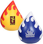 Flaming Droplet Stress Balls